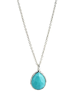 Ippolita Rock Candy Pendant Necklace, Turquoise