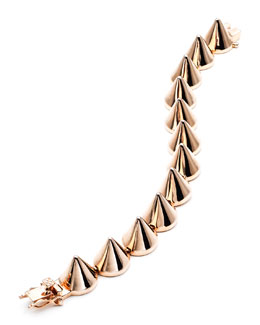 Eddie Borgo Large Yellow Gold Cone Bracelet