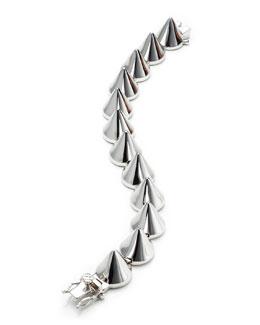 Eddie Borgo Large Silver Cone Bracelet
