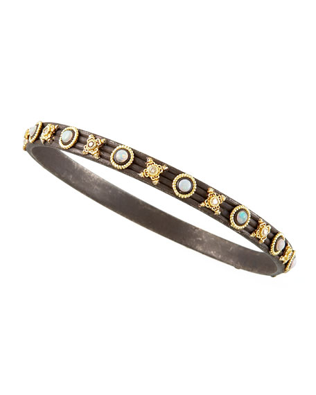 "Midnight Bangle, 1/4""W"