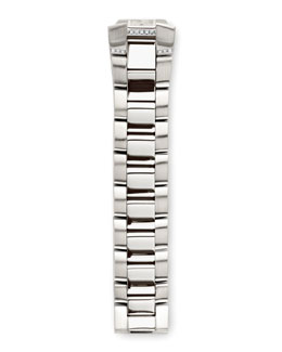 Philip Stein Stainless Steel Diamond Bracelet, 18mm