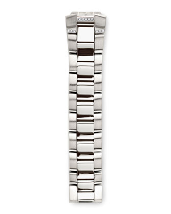 Stainless Steel Diamond Bracelet, 18mm