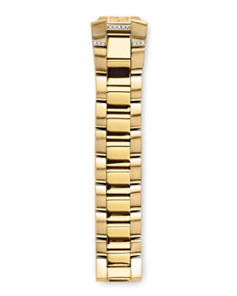 Philip Stein Gold-Plated Diamond Bracelet, 18mm