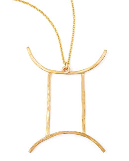 GaugeNYC Gemini Necklace