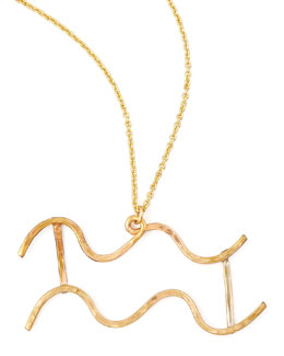 GaugeNYC Aquarius Necklace