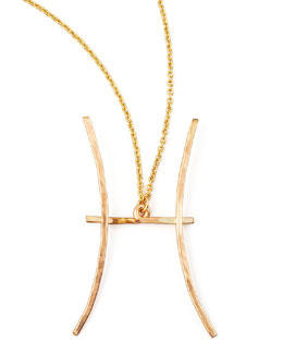 GaugeNYC Pisces Necklace