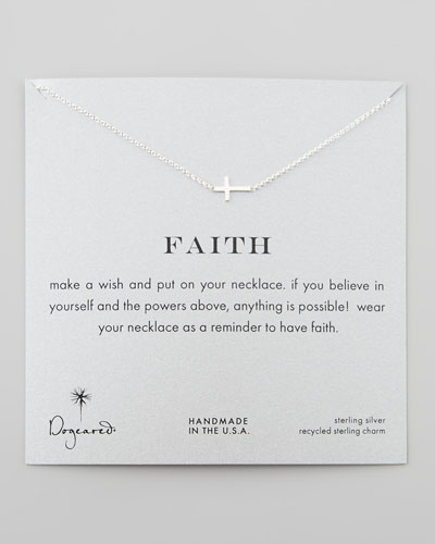 Dogeared Faith Necklace