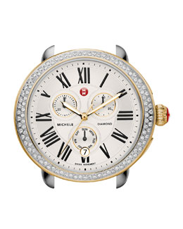 MICHELE  Serein Diamond Two-Tone Watch Head