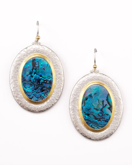 Blue Surf Earrings
