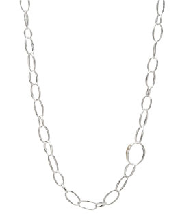 "Ippolita Delicate Silver Chain Necklace, 36""L"