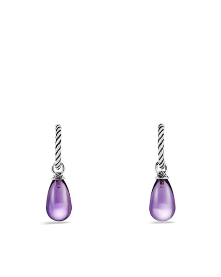 Color Classics Bead Drop Earrings with Amethyst