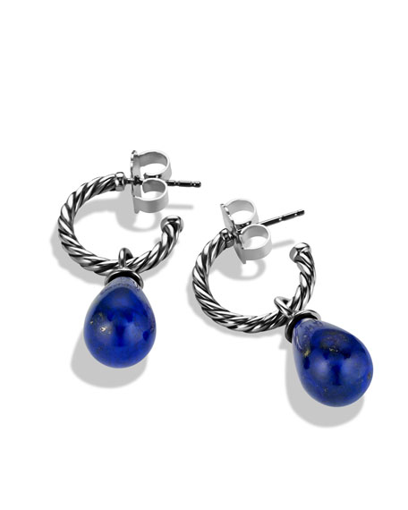 Color Classics Bead Drop Earrings with Lapis Lazuli