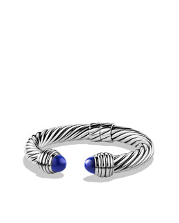 David Yurman Cable Classics Bracelet with Lapis Lazuli
