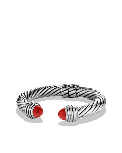 David Yurman Cable Classics Bracelet with Carnelian