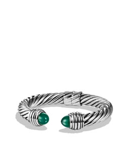 David Yurman Cable Classics Bracelet with Green Onyx