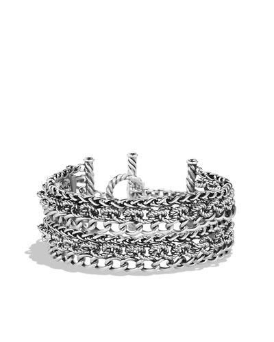 David Yurman Six-Row Chain Bracelet
