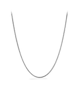 David Yurman Cable Rolo Chain Necklace