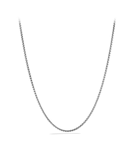 Cable Rolo Chain Necklace