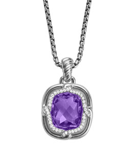 David Yurman Labyrinth Pendant, Amethyst