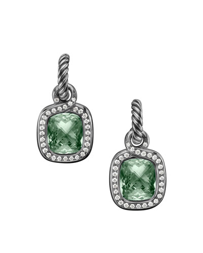 David Yurman Labyrinth Earrings, Prasiolite