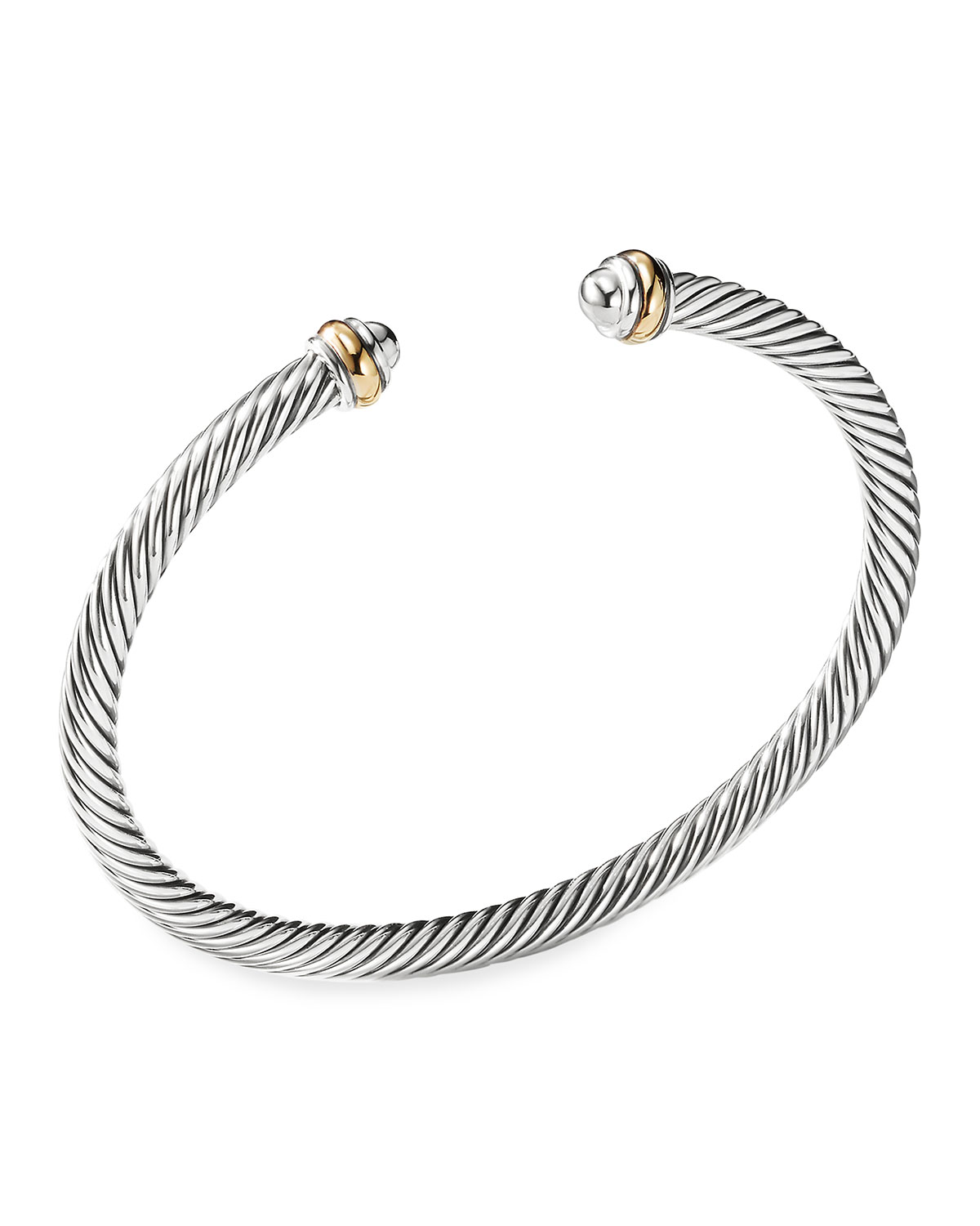 Cable Clics Bracelet With Gold
