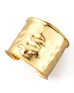 Nest Gold Geometric Cuff