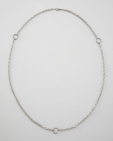 Caviar Link Necklace