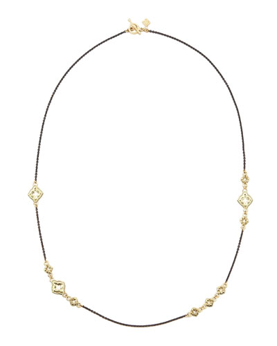 Armenta Quatrefoil Necklace