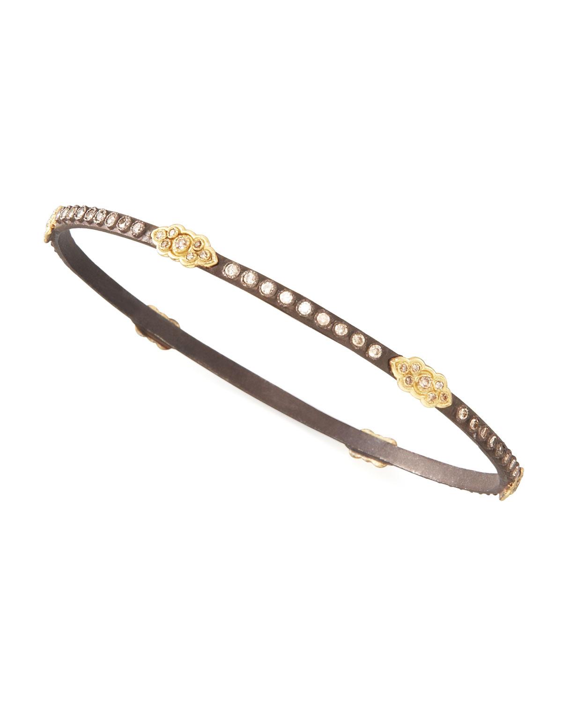 Armenta Oxidized Diamond Scrolls Bracelet K6lJP9R22Y
