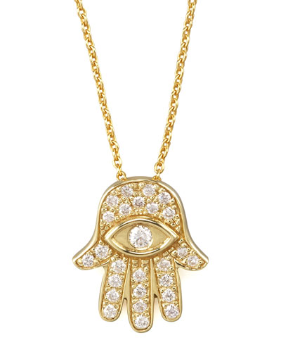 Roberto Coin Gold Hamsa Pendant Necklace