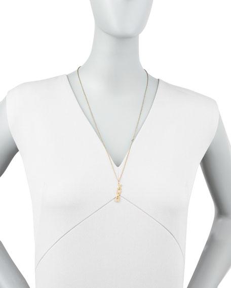 Vertical XO Necklace