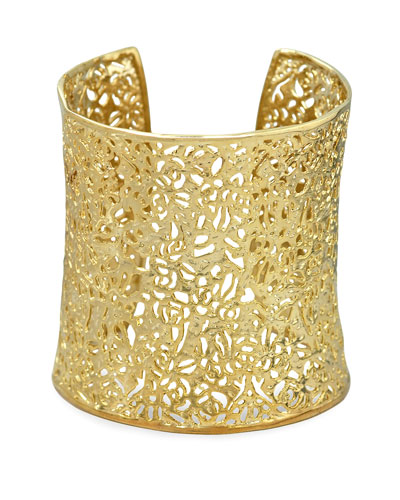 Kendra Scott Ainsley Cuff, Gold