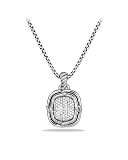 David Yurman Labyrinth Medium Pendant with Diamonds