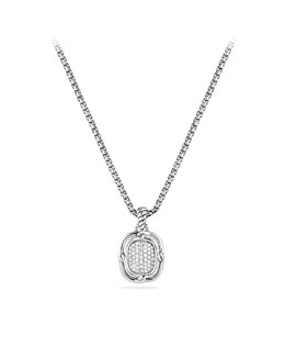 David Yurman Labyrinth Small Pendant with Diamonds