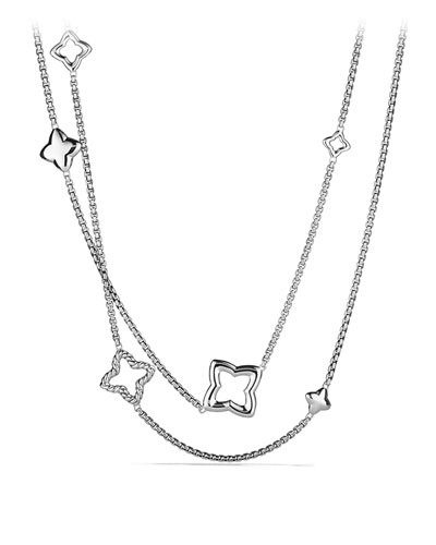 David Yurman Quatrefoil Chain Necklace