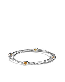 David Yurman Color Classics Bangles with Citrine