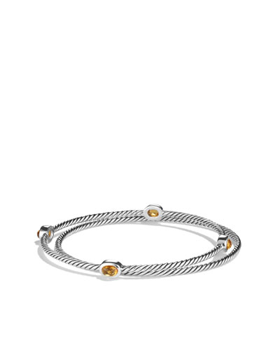 Color Classics Bangles with Citrine