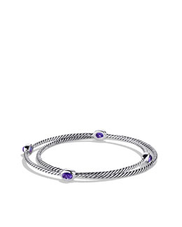 David Yurman Color Classics Bangles with Amethyst