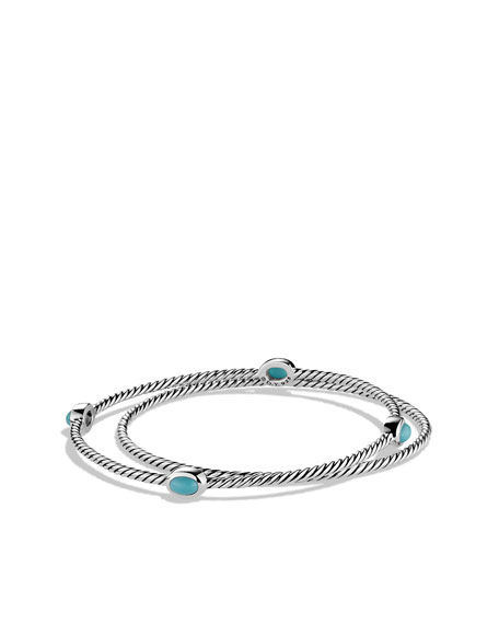 Color Classics Bangles with Turquoise