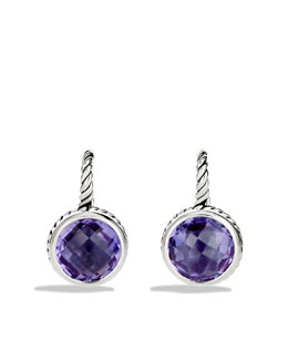 David Yurman Color Classics Drop Earrings with Amethyst