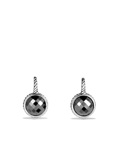 David Yurman Color Classics Drop Earrings with Hematine