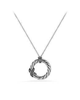David Yurman X  Pendant with Diamonds on Chain