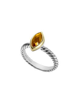 David Yurman Color Classics Ring, Citine