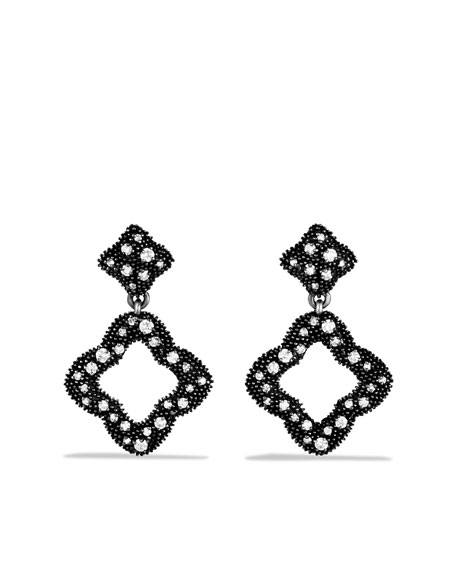 Quatrefoil® Double-Drop Earrings with Diamonds
