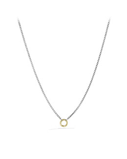 David Yurman Charm Chain Necklace
