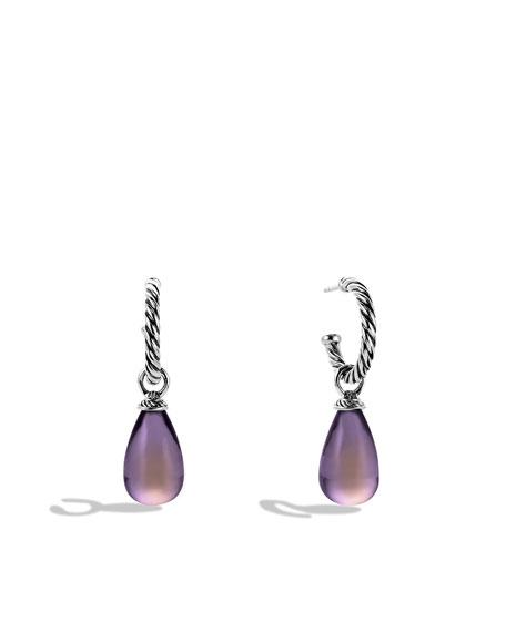 Color Classics Bead Drop Earrings with Lavender Moon Quartz