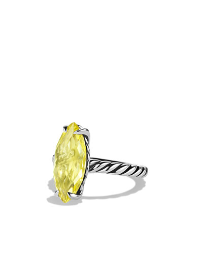 David Yurman Color Classics Ring with Lemon Citrine