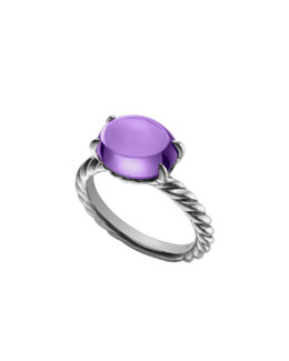 David Yurman Color Classics Ring, Amethyst, 12x10mm