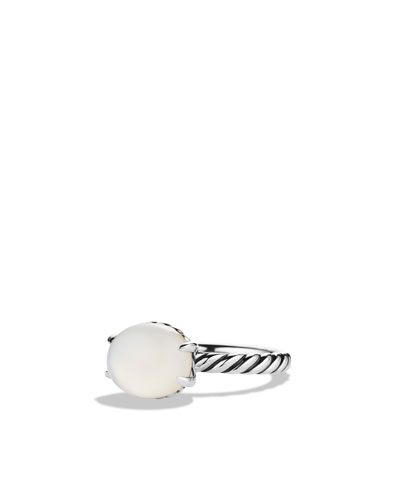 David Yurman Color Classics Ring with Moon Quartz