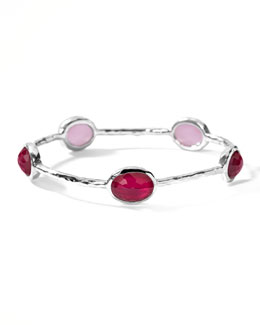 Ippolita Oval Raspberry-Station Wonderland Bangle
